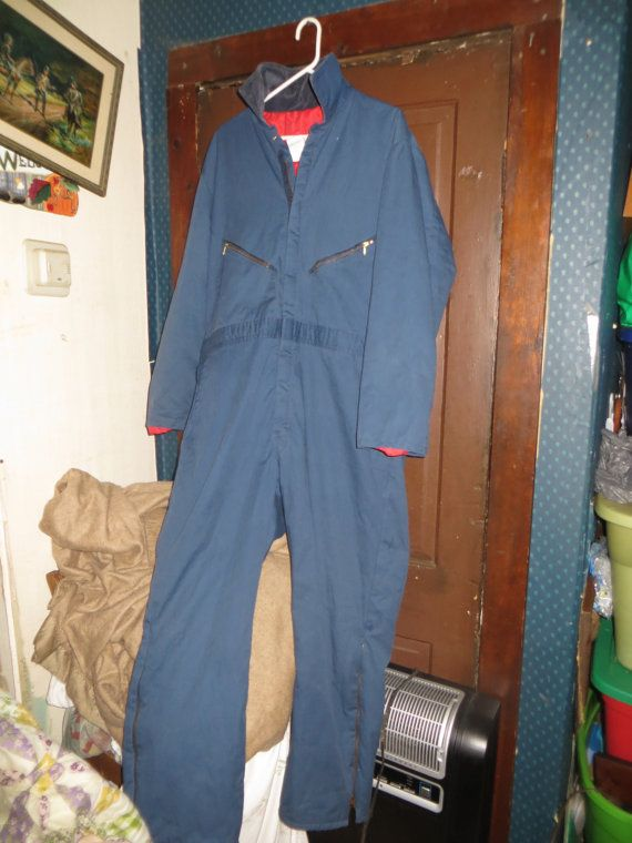 vintage walls blizzard pruf insulated blue by on walls insulated coveralls blizzard pruf id=86925