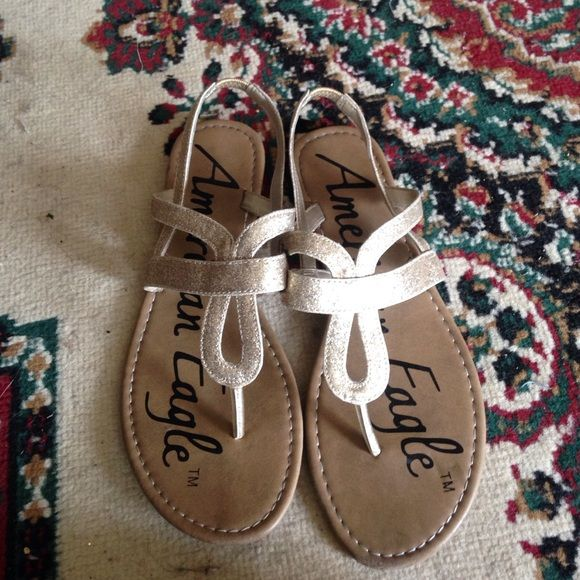American eagle Gold sandal American Eagle Outfitters Shoes Sandals