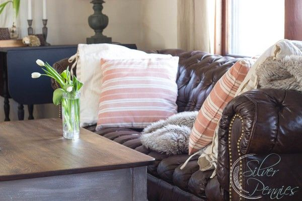 I Love The Restoration Hardware Style So Much Our Living Room Is Inspired By It Today Let S Talk About Getting Look For Less