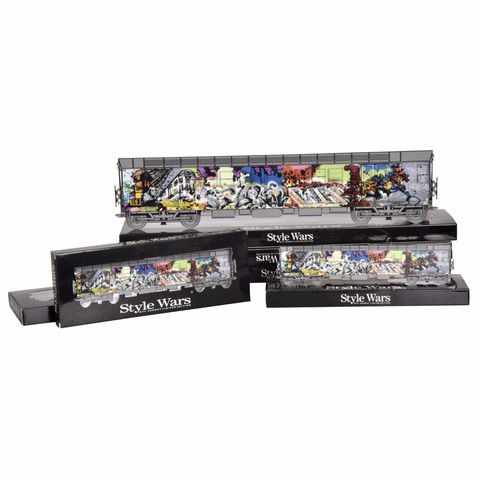 "Classic NYC Subway GRAFFITI art, Henry Chalfant Original photo collection, Revamped on NYC Original collector edition subway trains.  20""classic and 10""minis #graffiti #art #artwork #urbanart #stylewars #noc167 #grffitiart"