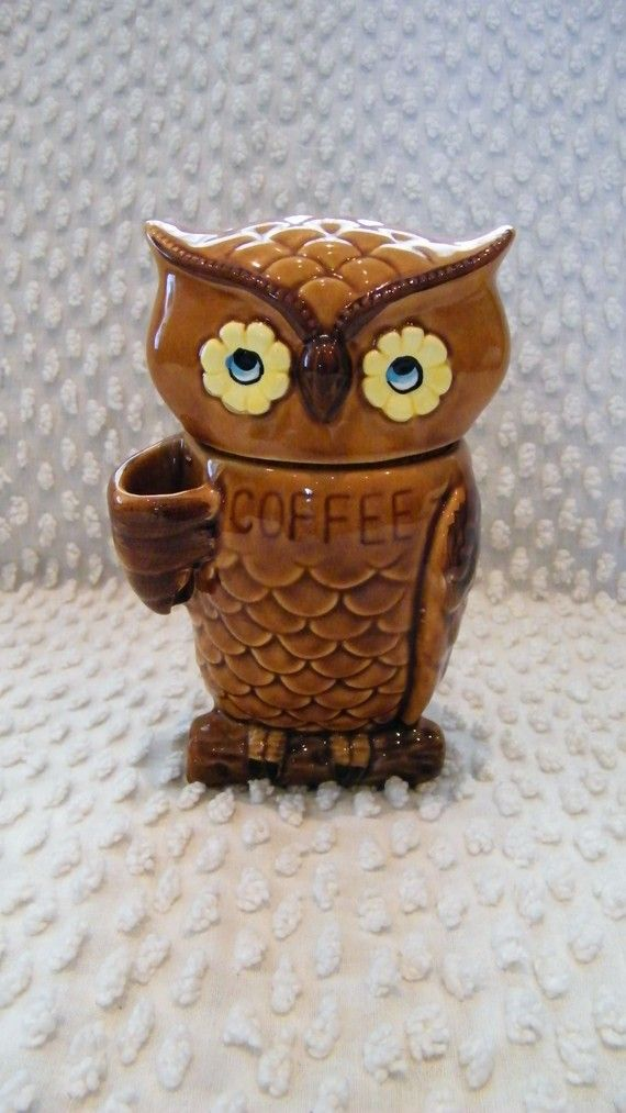 Owl Coffee Canister | Eule