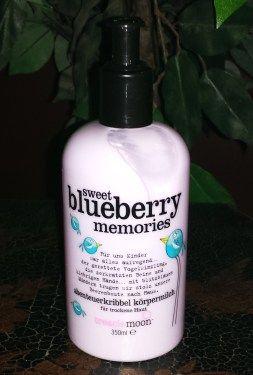 Treaclemoon Korpermilch Sweet Blueberry Memories Beautiful Skin