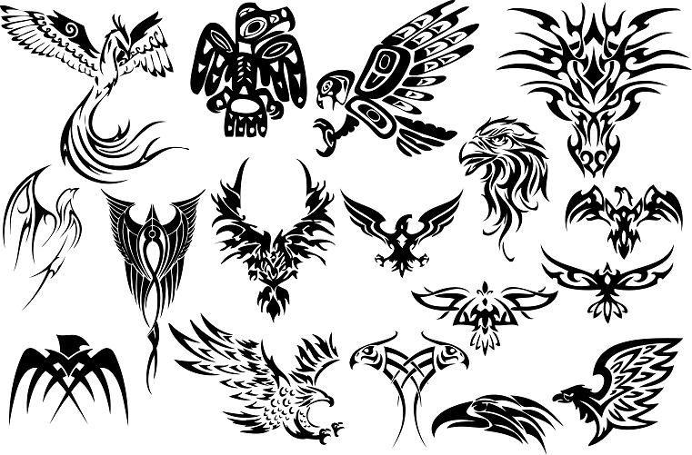 Vector Tattoo Patterns Ikuzo Tattoos Tribal Eagle Tattoo Tribal Tattoo Pictures Tribal Tattoos