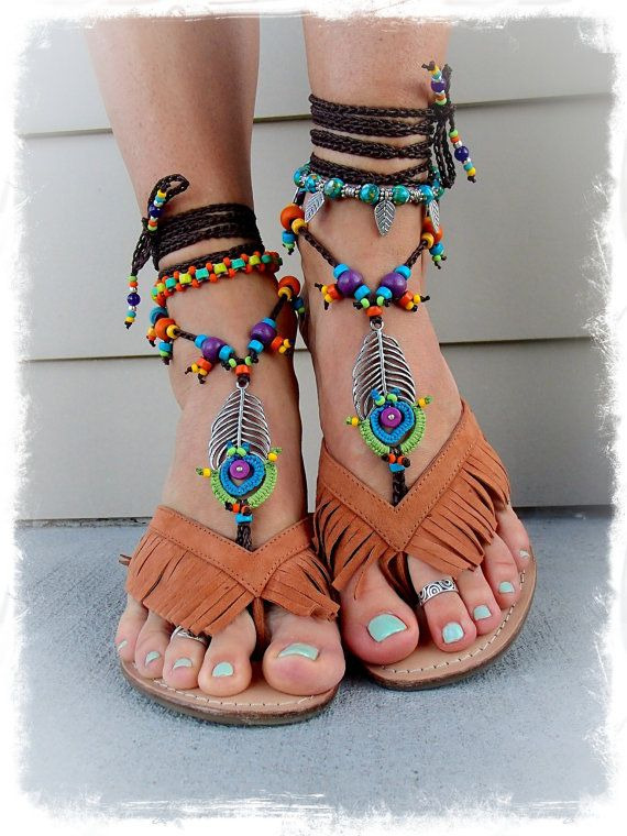 Chaussures vertes Hippie gKSMAwgE
