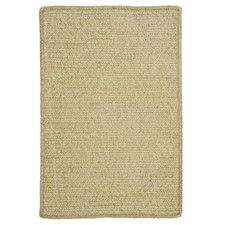 Simple Chenille Sprout Green Outdoor Rug
