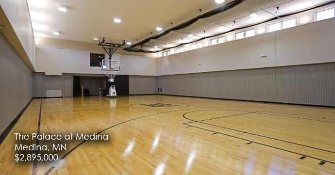 Slideshow The Best Home Basketball Courts Coldwell Banker Blue Matter Home Basketball Court Inside The White House Indoor Basketball Court