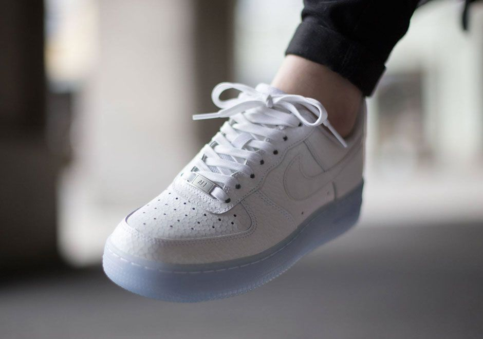 best cheap 1539f 619f5 This Nike Air Force 1 Might Have The Most Icy Sole Ever - SneakerNews.com