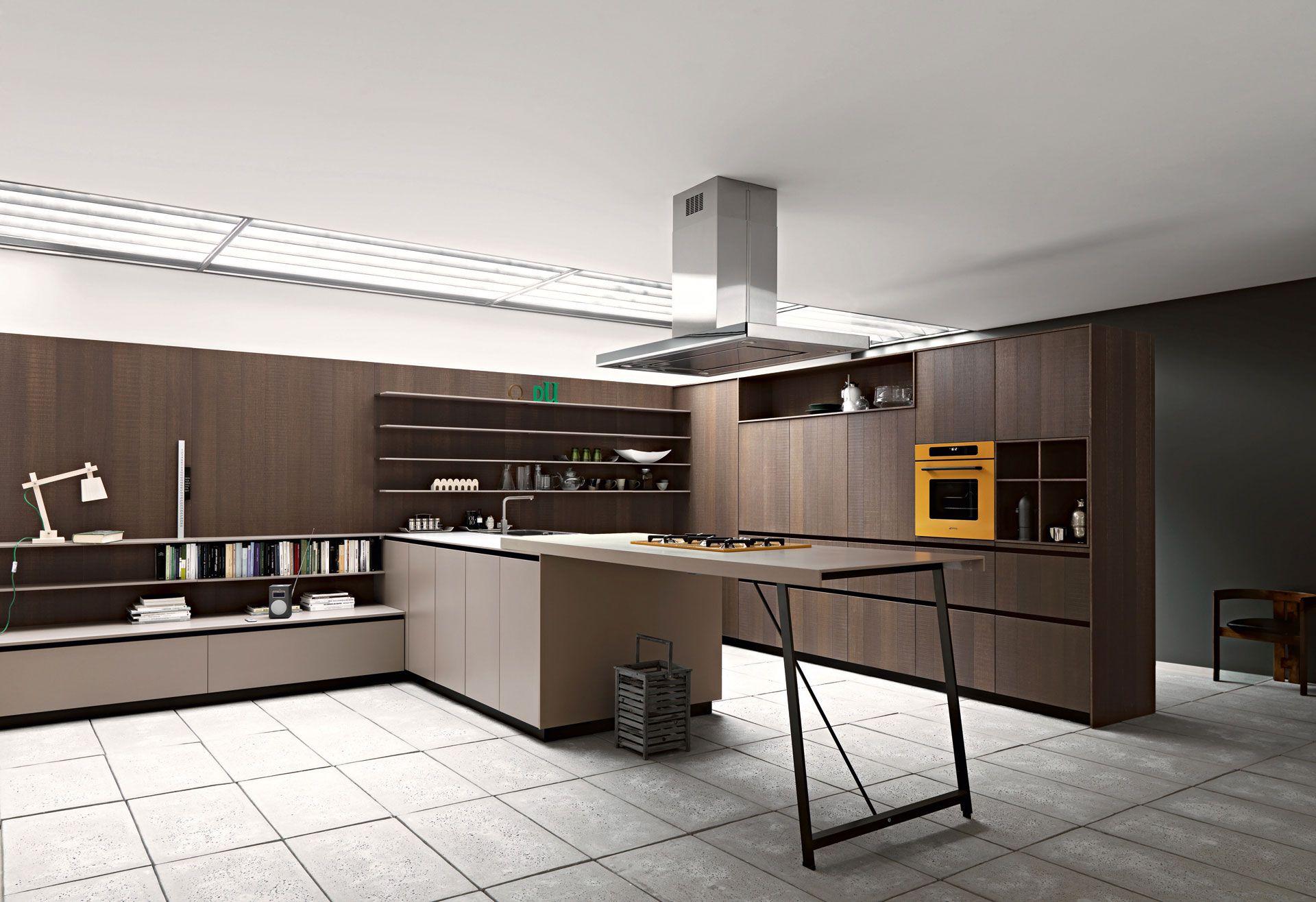 designer kuche kalea cesar arredamenti harmonischen farbtonen, cesar modern and minimal kitchen furniture | konyhabútor - kitchen, Design ideen
