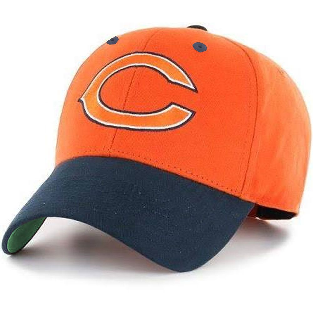 Chicago Bears Adjustable Navy   Orange Hat by Reebok  ChicagoBears  Bears   DaBears 3ce3e7302