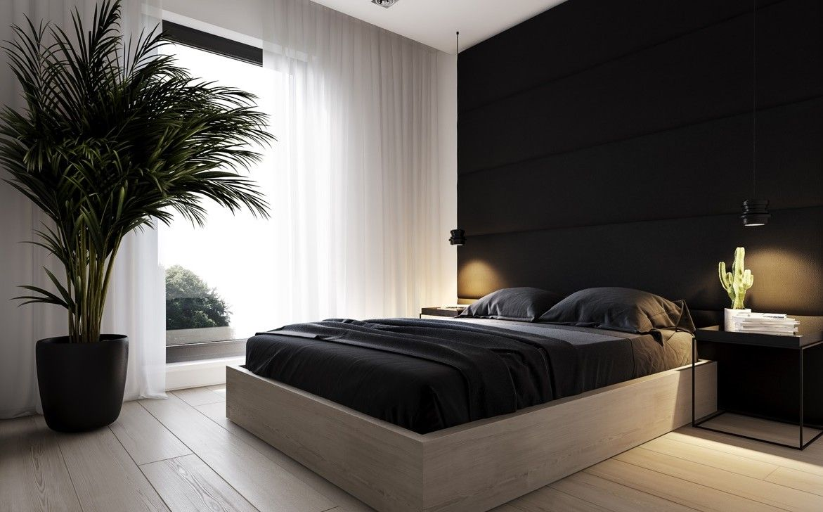 Pin On Bedrooms Bedroom design ideas black