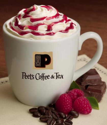 Raspberry Mocha ~ a delicious combination of espresso, chocolate and raspberry. Sounds delicious !!