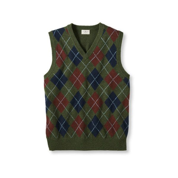 Lambswool Sweater Vest, Argyle ($250,000) ❤ liked on Polyvore ...