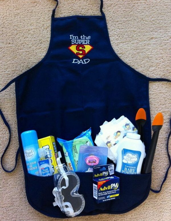 Fun and Practical Gifts for New Dad #superherocrafts