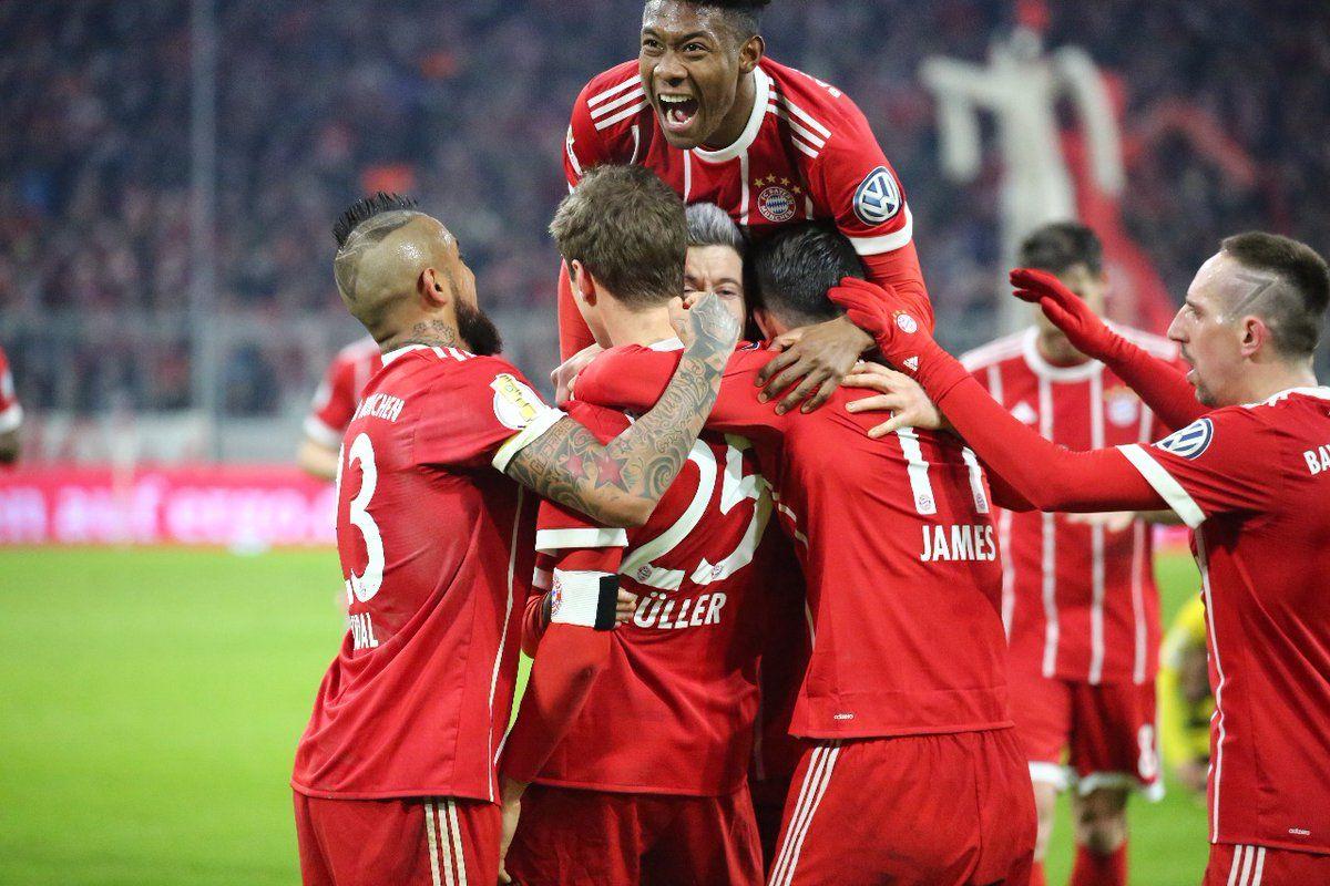 Bajern preko Dortmunda do četvtrtfinala (With images