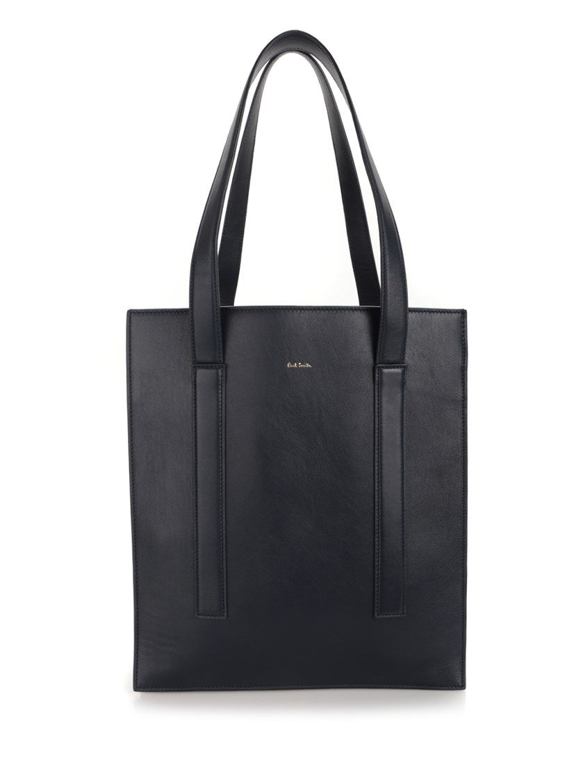 PAUL SMITH 'Concertina' Leather Shopping Bag. #paulsmith #bags #leather #hand bags #