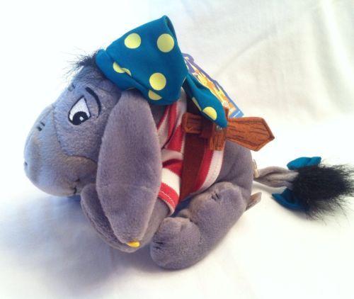 Disney Pirate Eeyore Plush Winnie The Pooh Disneyland Theme Park Edition $8.99 | eBay
