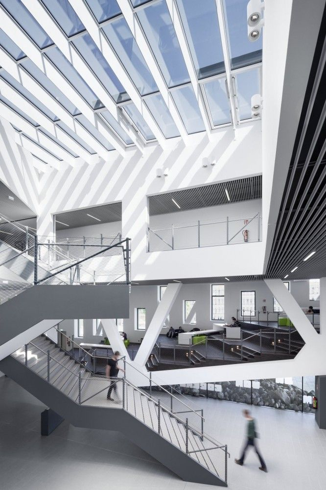 hörsaalgebäude osnabrück (college campus) barbarastraße, Innenarchitektur ideen