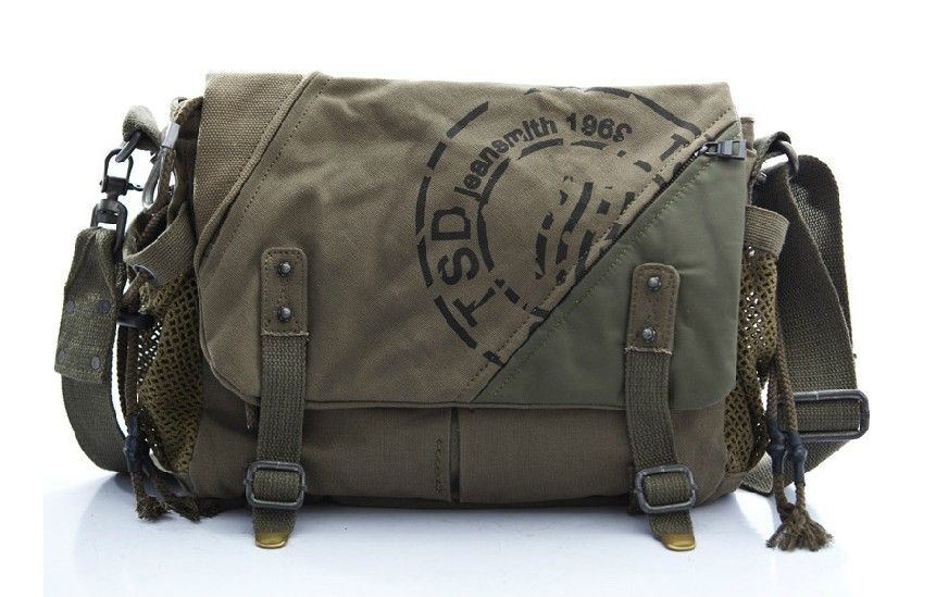 Canvas Shoulder Book Bags