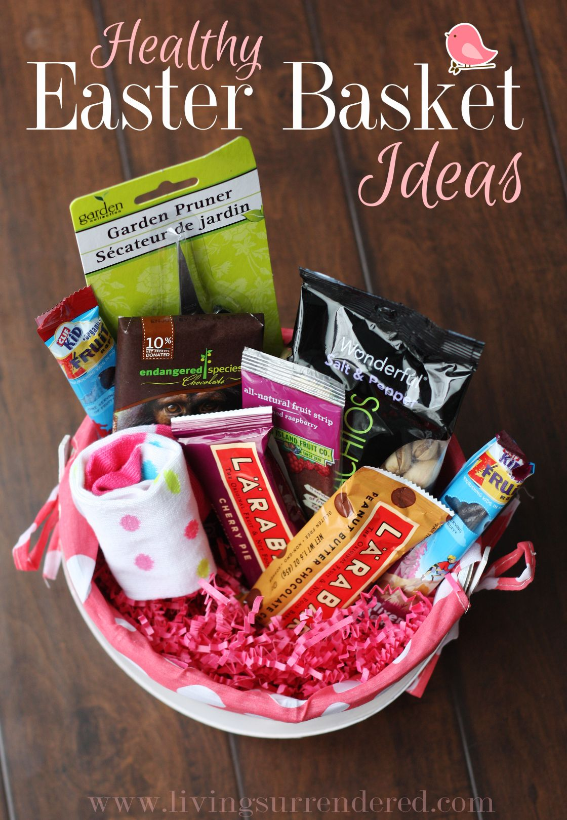 Healthy easter basket ideas easter pinterest basket ideas healthy easter basket ideas negle Image collections