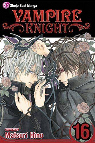 Vampire Knight, Vol. 16, 2013 The New York Times Best Sellers Manga Graphic Books winner, Matsuri Hino #NYTime #GoodReads #Books