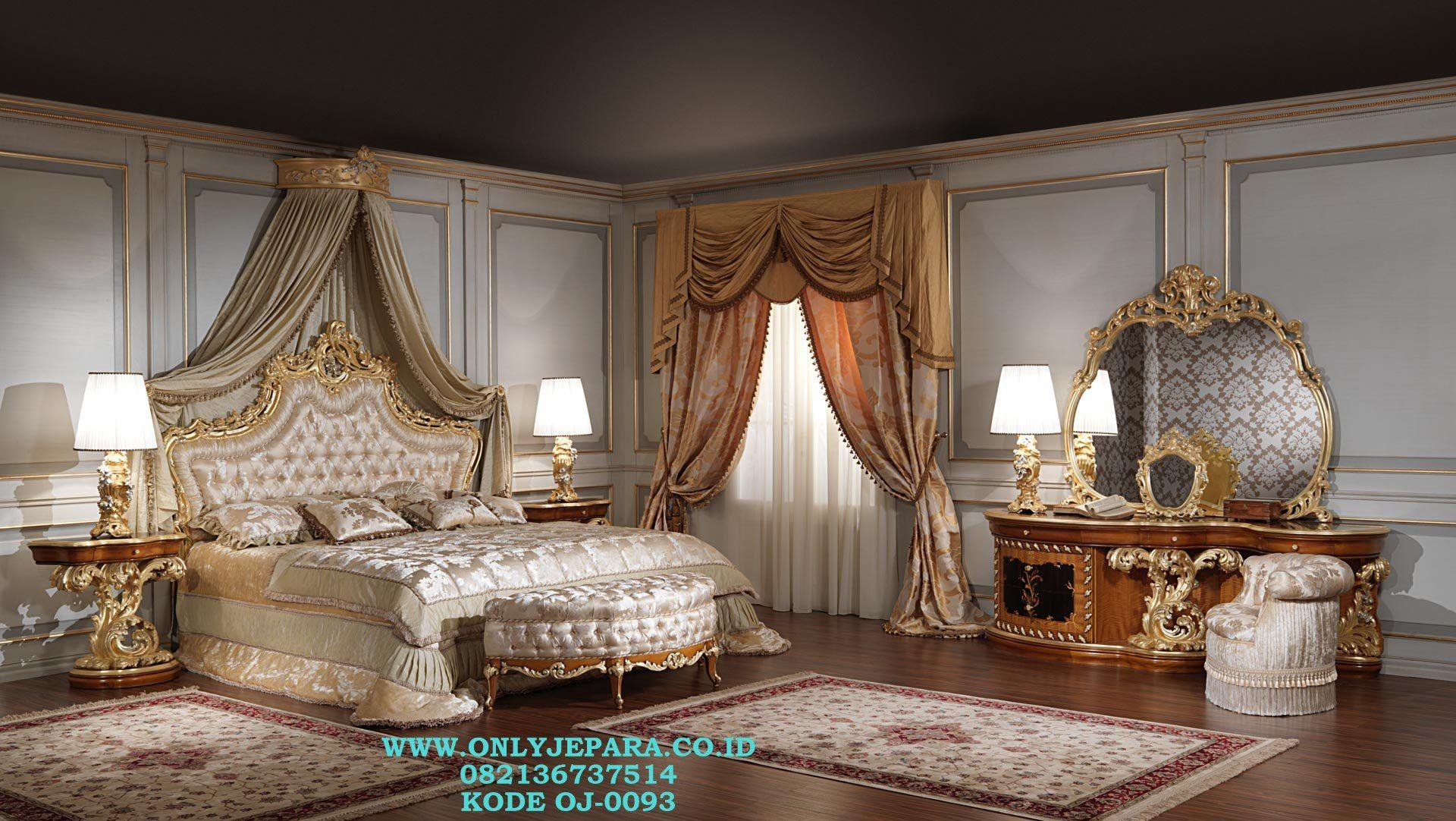 Jasa Pembuatan Kamar Set Ukir Luxury Klasik