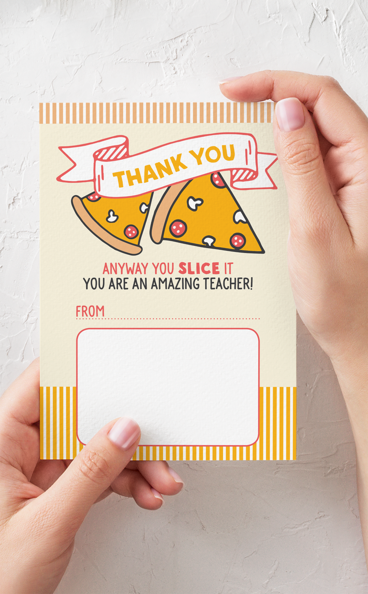 Edit /& Print Within Minutes! Teacher Appreciation Gifts Teacher Gift Card Holder Teacher Appreciation Printable Thank You Card