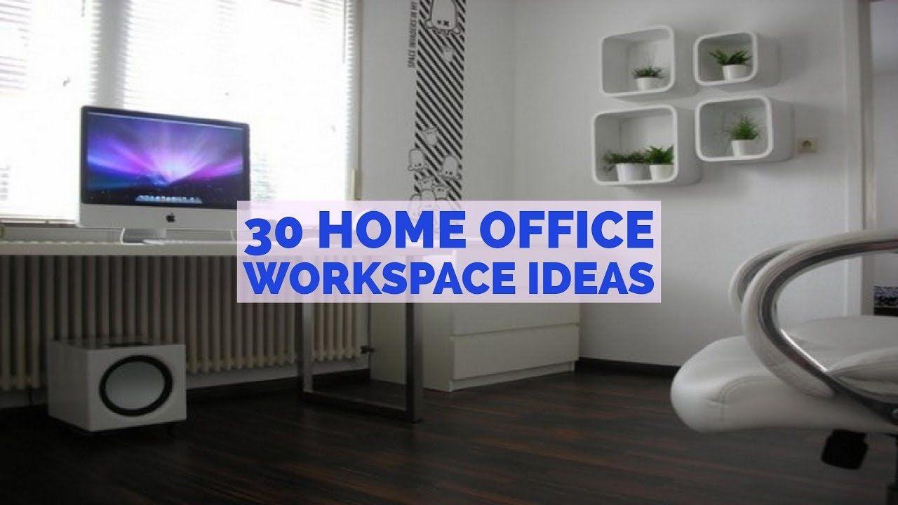 30 Home Office Workspace Ideas Small Office Desk Ideas 49194538