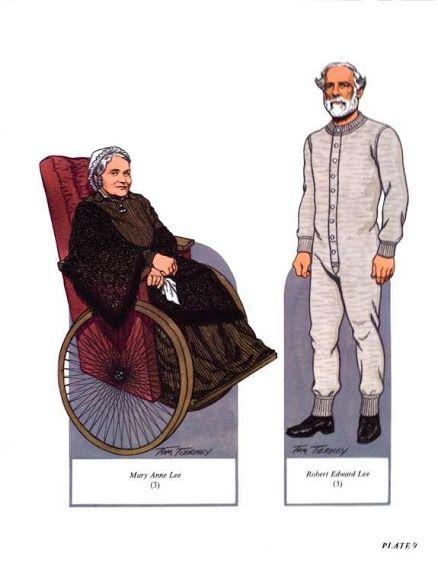 Robert E. Lee and his Family - Nena bonecas de papel - Picasa Webalbum