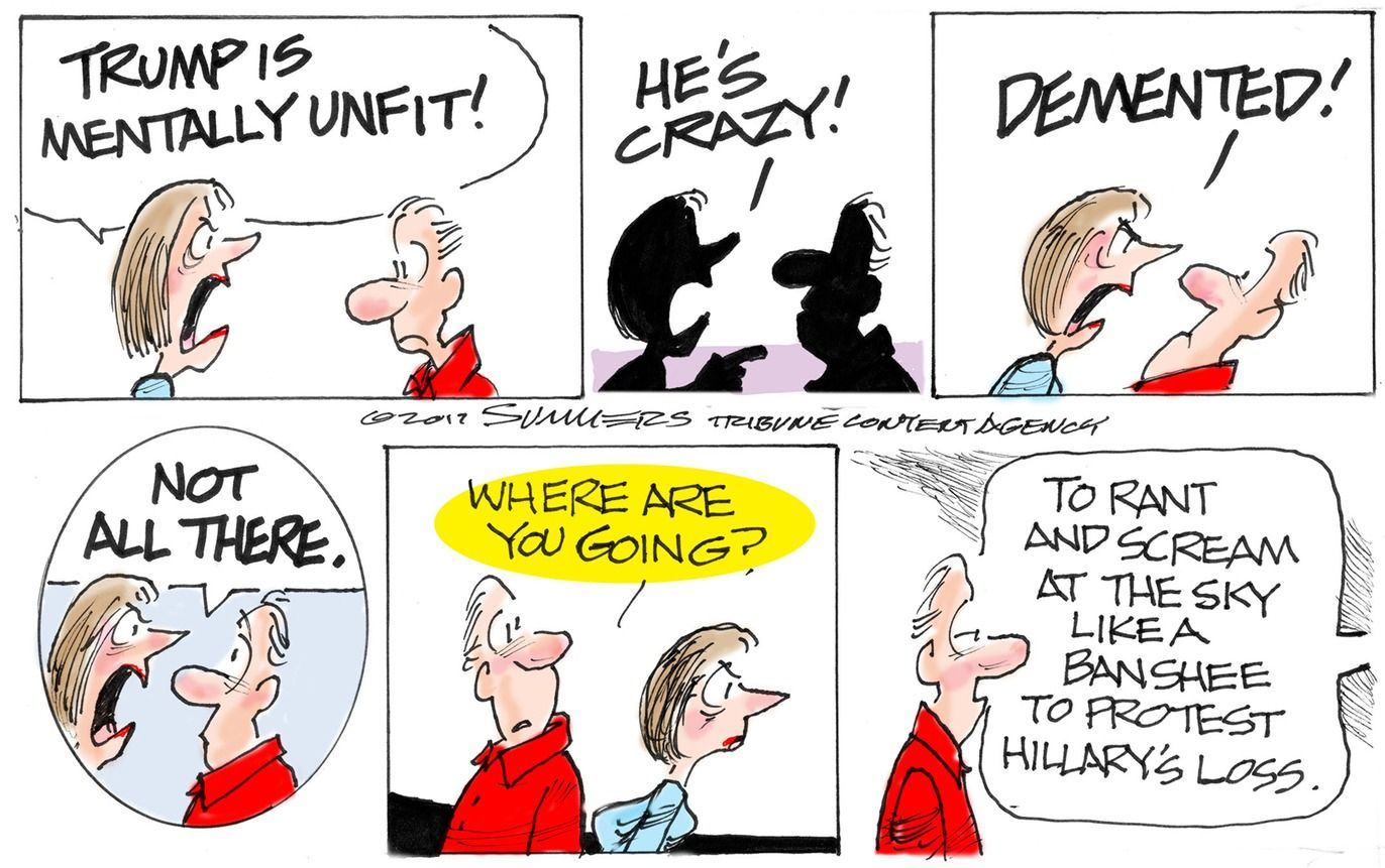 Conservative comic strips