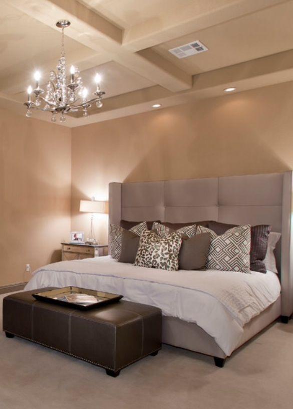 Habitacion en tonos grises caf s y neutros habitaciones for Decoracion de interiores en tonos grises