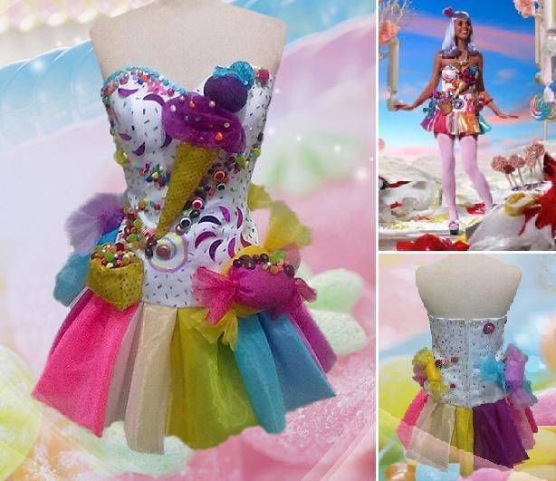 how to make a katy perry halloween costume