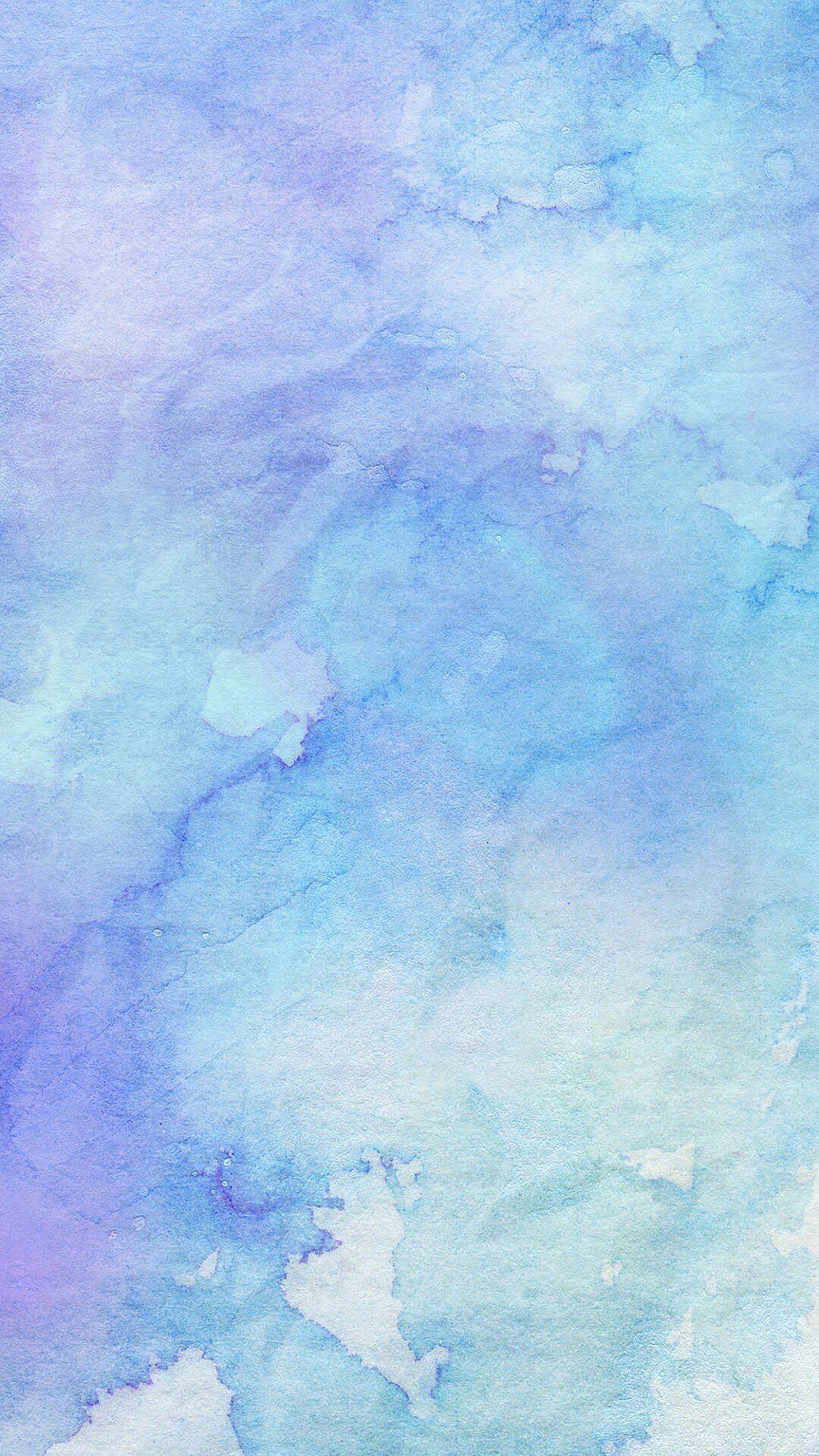 Pastel Blue Pattern Wallpaper Download Watercolor Wallpaper Watercolor Blue Background Blue Wallpaper Iphone