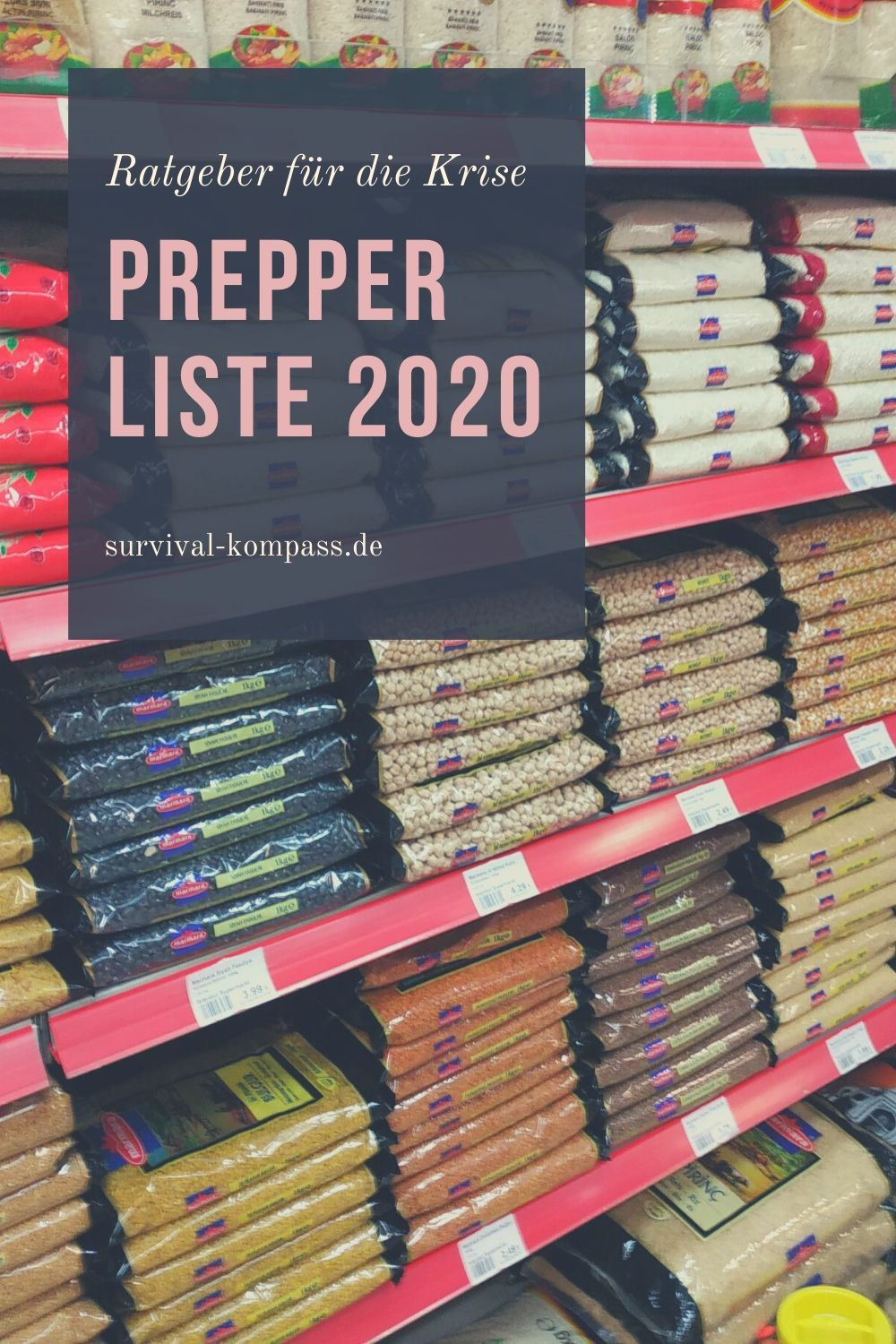 Photo of Prepper List 2020: Everything you need to survive