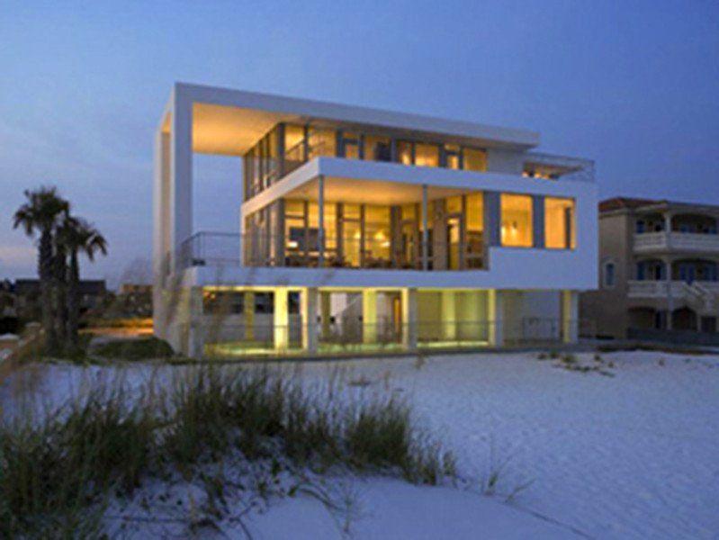 Peachy The White House Of Holiday Isle Beach Florida Beach Interior Design Ideas Greaswefileorg