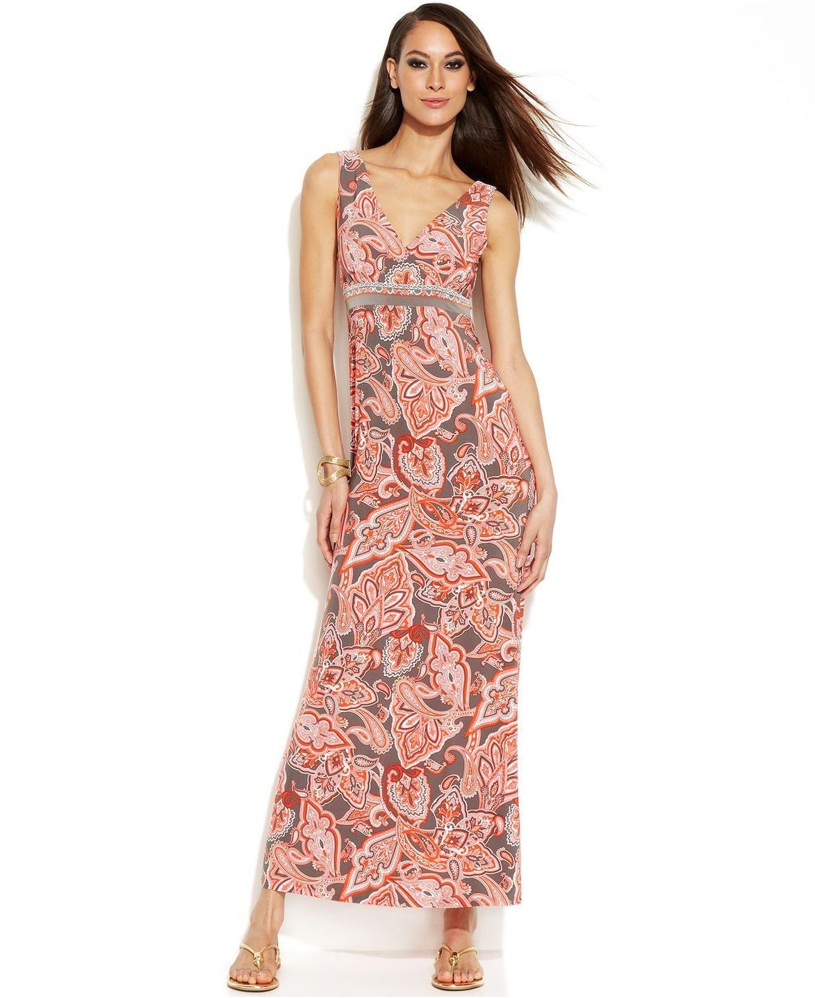 a960d7cde8b Petite Sleeveless Maxi Dresses