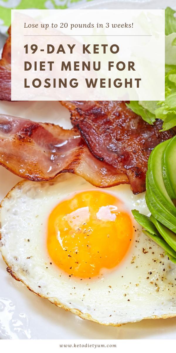 19-Day Ketogenic Diet Plan For Beginner's