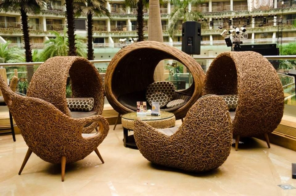 Super awesome #chairs and #sitting.