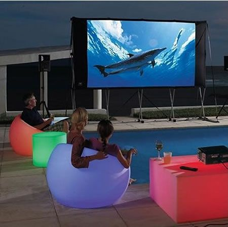 outside glow in the dark | Glow-in-the-dark outdoor furniture!