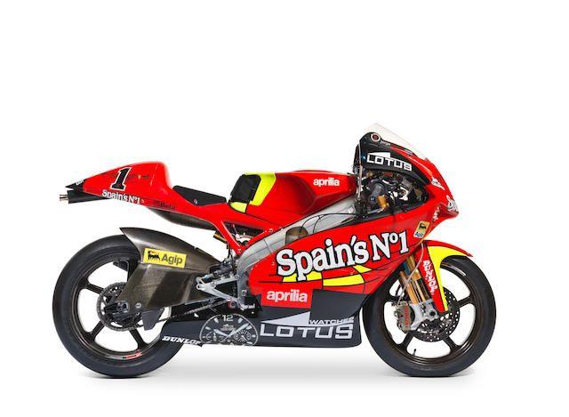 The Ex Works Jorge Lorenzo 2007 World Championship Winning 2007