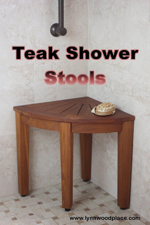 Teak Shower Stools: The Ultimate Shower Comfort | Teak shower stool ...