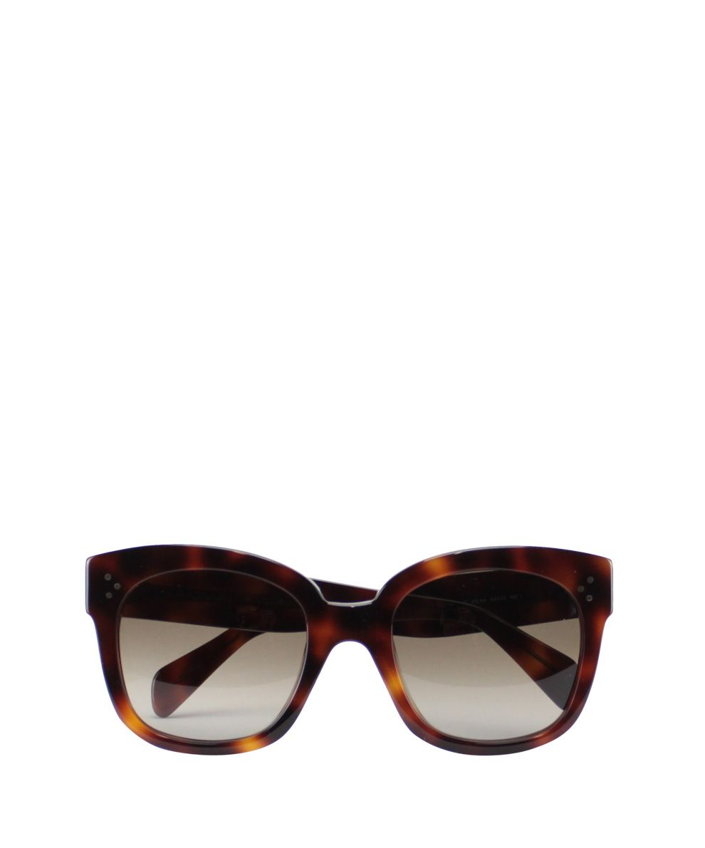 86eefa4a801 Celine New Audrey Sunglasses in Brown
