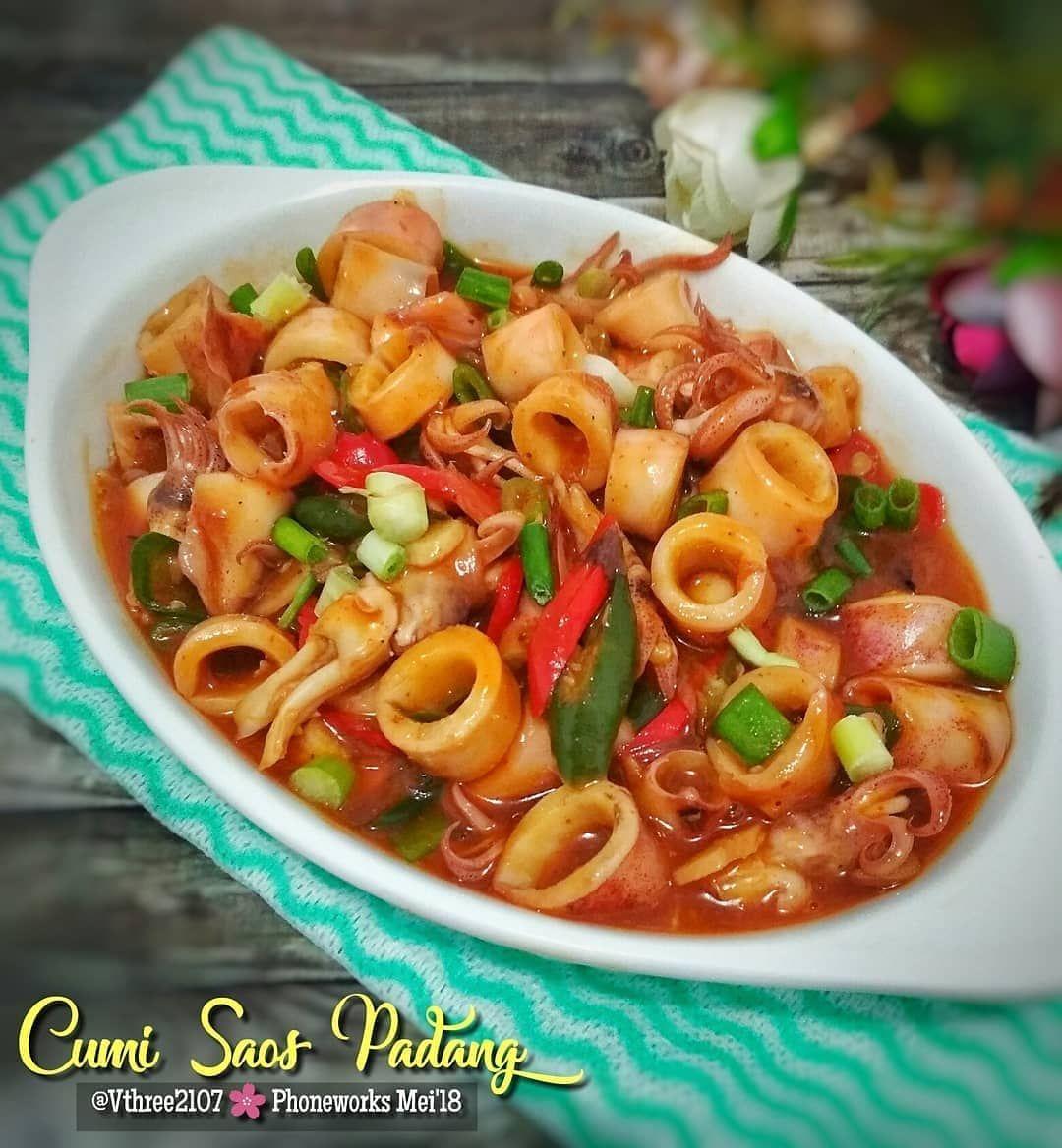 4 770 Likes 48 Comments Doyan Cooking Doyancooking On Instagram Cumi Saos Padang By Vthree2107 Baha Resep Makanan Resep Masakan Resep Seafood