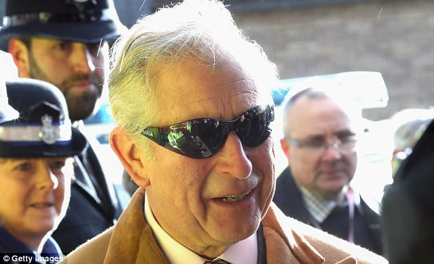 d2af0a6a15b Prince Charles is back to his cheerful self as he arrives in Durham