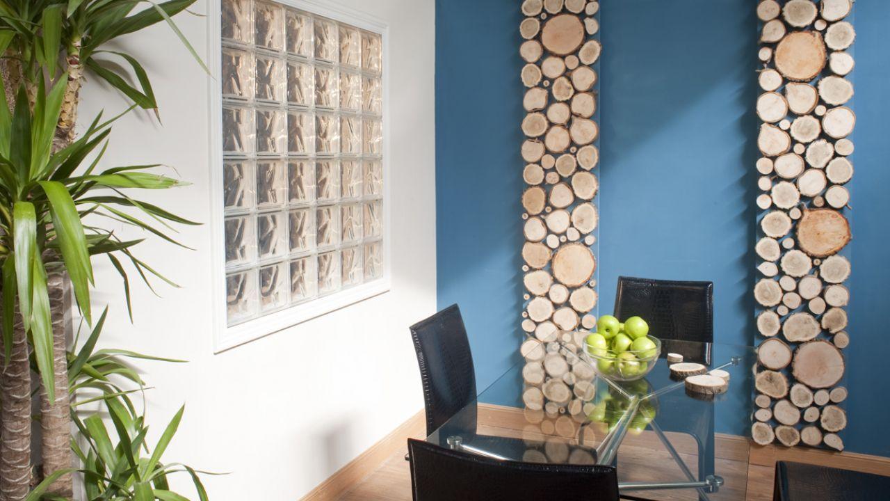 Panel decorativo con troncos para la pared detalle pared decoracion troncos bricolaje en 2019 - Panel decorativo para pared ...
