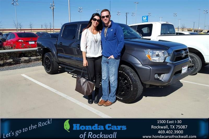https://flic.kr/p/EqB5ri | Congratulations Zachary on your #Toyota #Tacoma from Marvin Lazalde at Honda Cars of Rockwall! | deliverymaxx.com/DealerReviews.aspx?DealerCode=VSDF