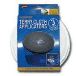 "Carrand The Gripper™ 5"""" Terry Applicators - 3 pack CRD40122"