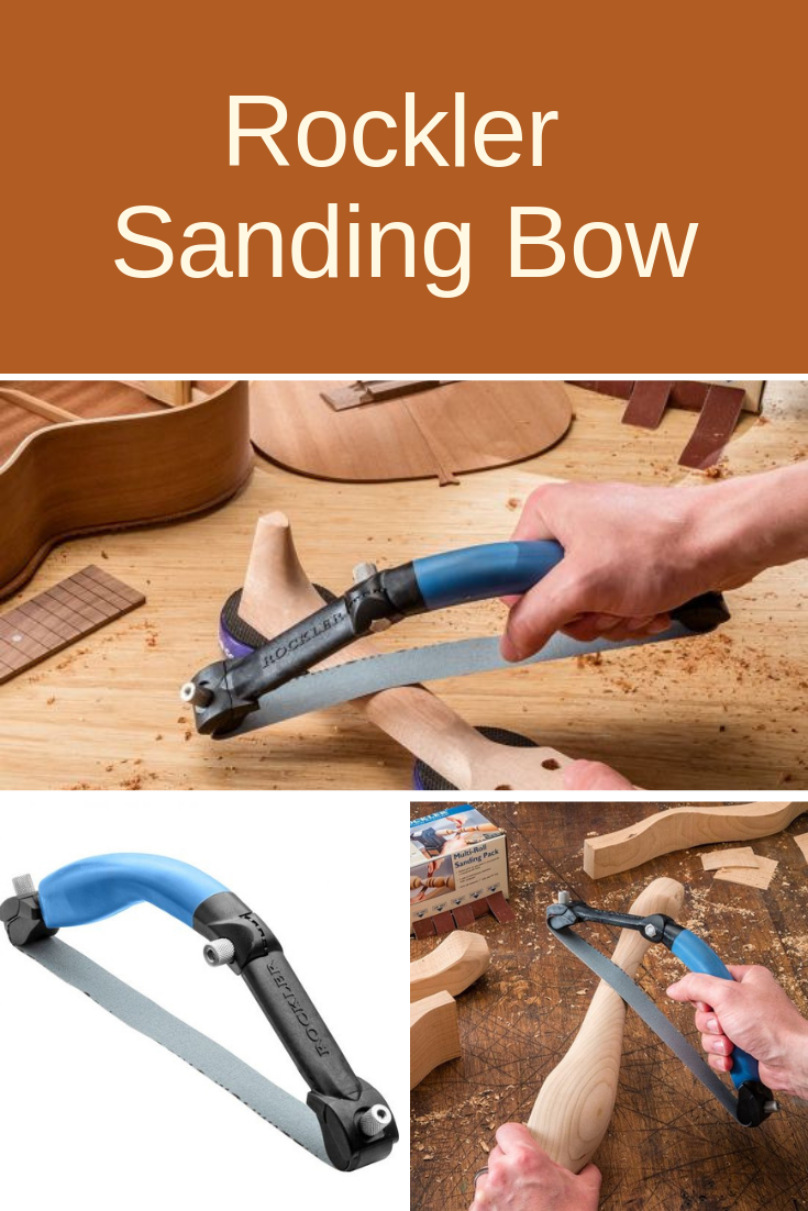 Rockler Sanding Bow Woodworking Sanding Tool Shed Organizing