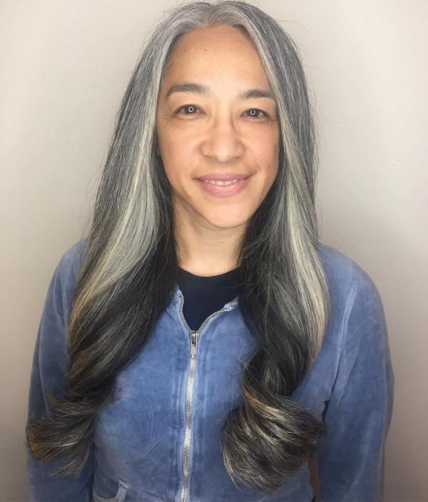 Long Grey Hairstyles Impressive 40 Stylish Long Hairstyles For Older Women  Long Grey Hair Gray