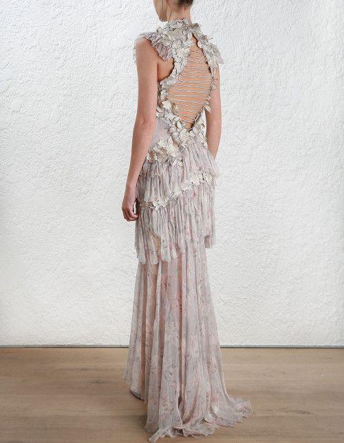 e6f6606e5793 Zimmermann Stranded Tier Dress. Model Image. | Outfits I love ...