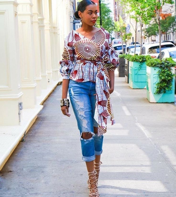 35 Fabulous African Style Tops and The Afronistas Who Rock Them